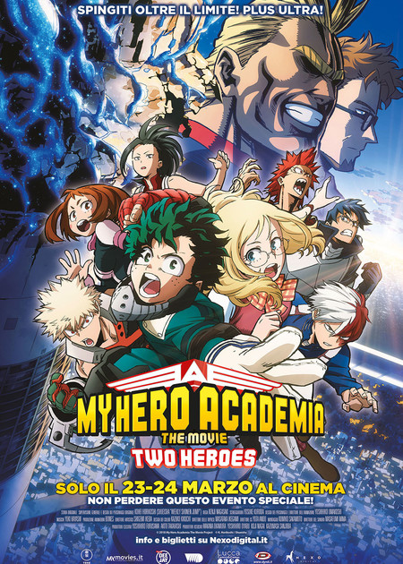 MY HERO ACADEMIA THE MOVIE - TWO HEROES