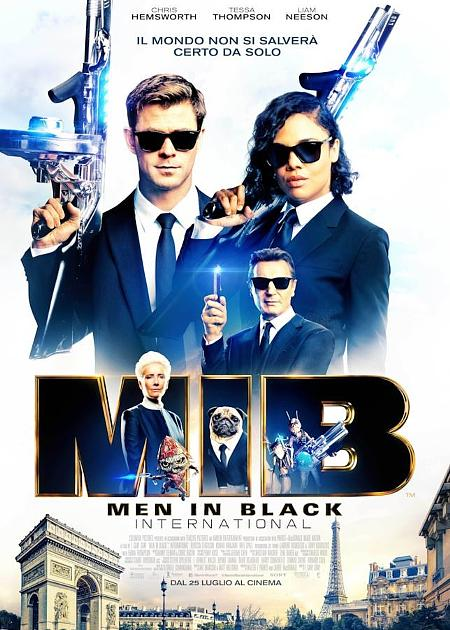 MAN IN BLACK - INTERNATIONAL