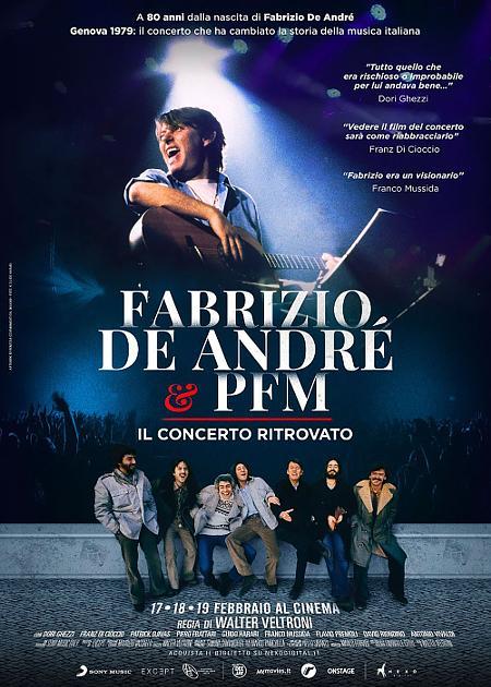 FABRIZIO DE ANDRE' E PFM - IL CONCERTO RITROVATO