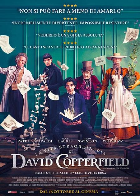 LA VITA STRAORDINARIA DI DAVID COPPERFIELD